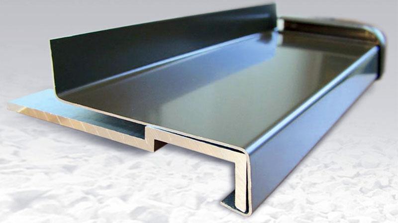 Отливы алюминиевые