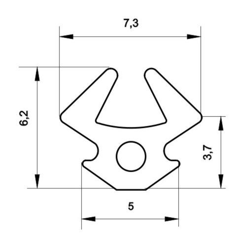 Уплотнитель УА-0077