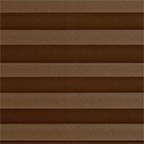 Креп перламутровый, коричневый
