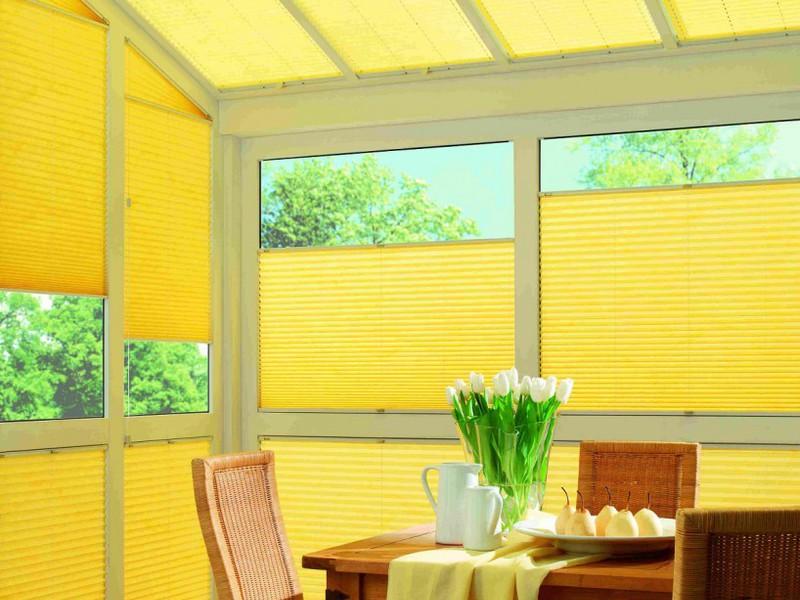 Плиссированые шторы