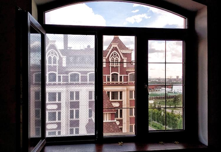 Сетка с мембраной на окно