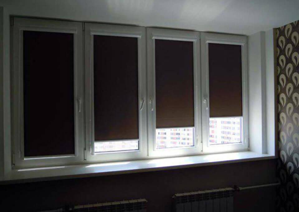 Жалюзи и рулонные шторы на окна в Санкт-Петербурге