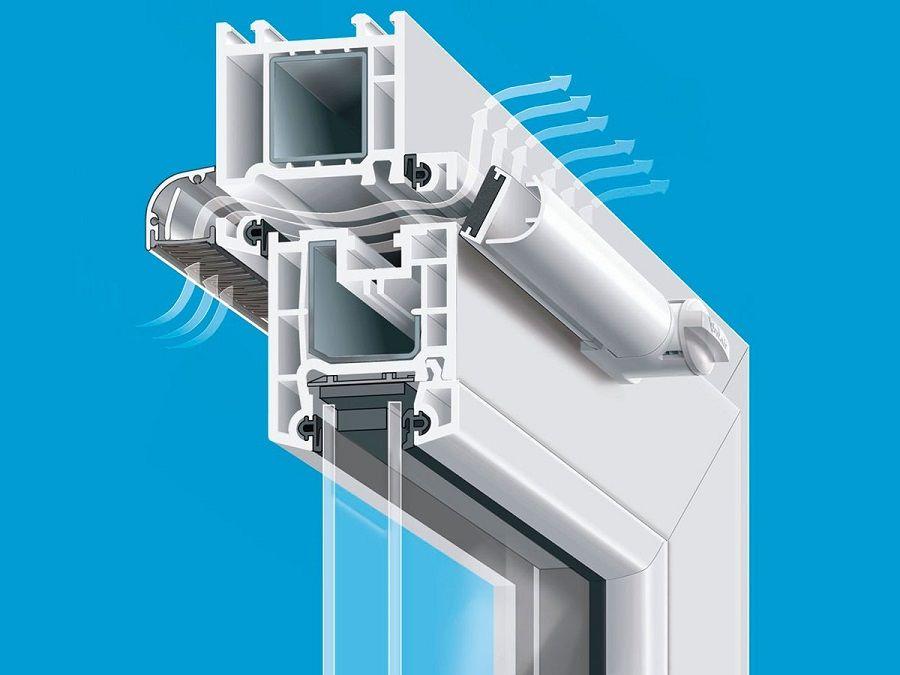 Стелопакет с вентиляционным клапаном